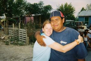 Karin & translator Mikey