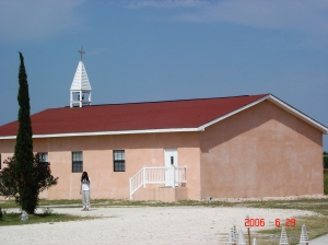 Chapel at our base camp