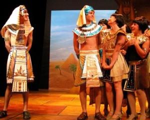 Pharaoh & Josheph-and I guess some women who've seen Joseph's sweet multi-colored coat :)