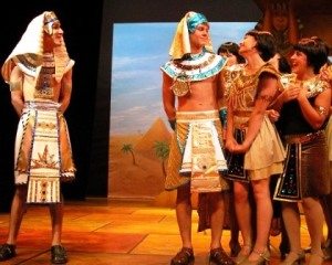 Pharaoh & Josheph-and I guess some women who've seen Joseph's sweet multi-colored coat :)