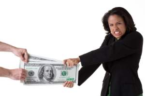Ever feel like you're in a tug of war with your money?